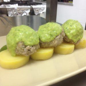 polpeppe di bollito modenese con salsa verde