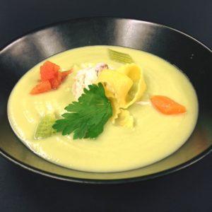 zuppa arzilla e broccoli a mo' mio